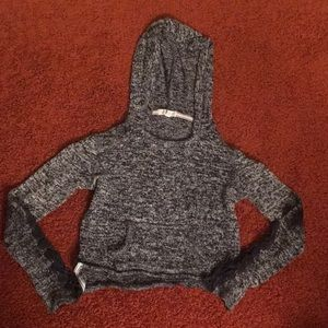 Aéropostale Cropped Hooded Sweater